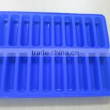 Bar shaped silicone ice tray for drinking and beer