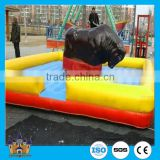 Customized inflatable bungee bull inflatable bull riding machine amusement rides