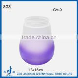 ball shape glass vases for christmas flower
