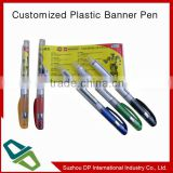 Promotional Pen with Pull-out Flag , Logo flyer pen,banner pen