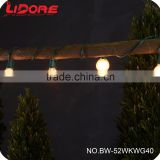 LIDORE China Supplier 25ct G40 Globe Patio String Lights