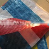 PE airfreight cheap stripe color tarpaulin,waterproof cover,packing material,rv awning,polietileno,market decorative covering