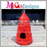 Garden Candle Lantern Bell Shaped Christmas Ornament