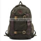 Stylish Men Women Canvas Backpack For Laptop Bags Notebook School Bag Swiss PC Gear 14""