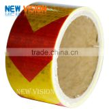 Waterproof for road safety caution tape colour printing road reflective tape