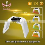 High Quality omega light beauty machine/acne scar removal cream/LED Light Therapy Machine