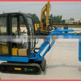 china mini excavator with tilt bucket