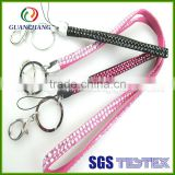 Bulk buy from china bling rhinestone lanyard with key chains