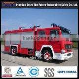HOT SELLING FOR SINOTRUK HOWO 8 CBM SIZE OF FIRE TRUCK FOR SALE