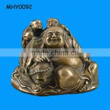 Laughing lovely resin Wholesale Buddha Statue