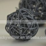 Woven decorative Wicker Balls