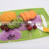 Useful Plastic chopping board/Non-slip plastic chopping board for kitchen