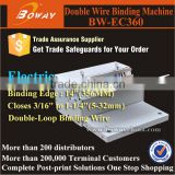 EC360 binding machine for All pitch closer size coil wire a4 size ring binder