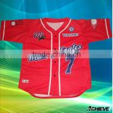 Custom polyester baseball jersey subliamted gym fashion baseball shirts vintage print baseball suits shorts socks