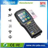 Programable secondary development Android Handheld terminal with printer and 1D 2D barcode scanner
