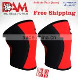 DAM Knee Sleeve Powerlifting Weightlifting Patella Support Brace Protector gym 201728