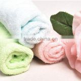 Super absorbent very suitable jacquard cotton / microfiber bath /face towel new products on china market