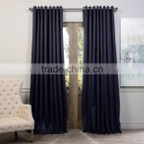 Factory price professional design 100% polyester curtain