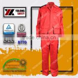 OEM Service Protective Clothing Used In Oil And Gas EN11611 Meta Aramid Fire Fighting Suit