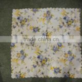 village style printed blue flower table cloth