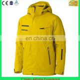 Waterproof windbreaker breathable skiing jacket mens snow sport jacket (7 Years Alibaba Experience)