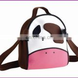 oxford material panda picture backpack bag for school