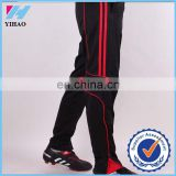 Yihao 2016 new arrival men sports pants football clothing trousers soccer jersey long pants