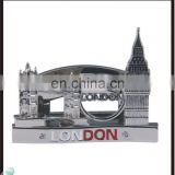 New coming antique silver london souvenirs card holder