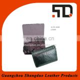 Handmade Cheap Genuine Leather Mobile Phone Cade with Flap Cover