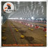 Yemen Layer Farm & Poultry Farming Equipment Broiler Floor Raising System & Chicken Deep Litter System with Automatic Drinking & Feeding Pan System in Chicken Coop