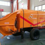30-100 m3/h diesel/electric concrete tralier pump
