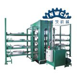 Hot Press Wood Cable machine