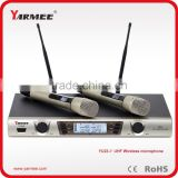 China suppliar long distance professional UHF wireless handheld microphone for KTV / karaoke system
