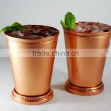 Copper Julep Mint Cup, Pure Copper Lemon Water Tumbler