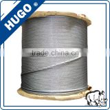 6*37 galvanized steel wire steel wire rod stainless steel wire rope                                                                         Quality Choice