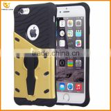 360 degrees stand holder hard back cover case for iphone 6