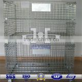 Galvanized Wire Container 2 stack layers