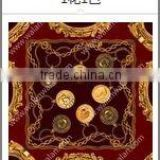 Digital print custom design chinese scarf silk scarf