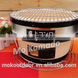 large size portable Japanese ceramic Charcoal baking bbq oven for home