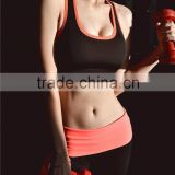 (OEM/ODM Factory)multicolor womens gym clothes quick-dry shakeproof ladies running fitness vest wireless running bra yoga sport