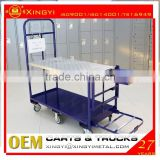 Alibaba china supplier small luggage cart hand trolley / supermarket trolley / fruit carts