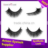 Make your own brand eyelash extension lashes faux mink 3D extension/synthetic mink lashes 3D