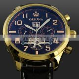 WM373 Gold Automatica Mechanical Men Man Watch
