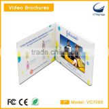 7 inch tft lcd screen sexy video books booklets brochures business cards displays vc7000