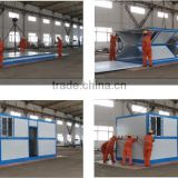 Innovated prefab house folding house Standard container trailer, Easy to use folding transportation