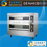 2015 New kitchen equipment two decks two trays commercial price bread electric baking oven used for bakery