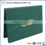 Hard Cover A4 Vinyl PVC Diploma Cover Presentation Folder