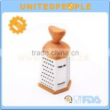 Wood Grain Handle Multi-purpose Vegetable And Coconut Grater