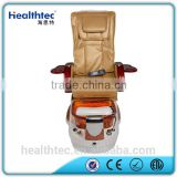 hot sale glass bowl pedicure foot spa massage recliner chair