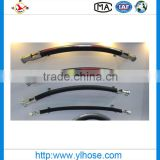 High pressure flexible rubber hydraulic hose R1/1SN with pipe fiitings made in China bymanufacturer